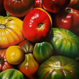 Natura morta con pomodori