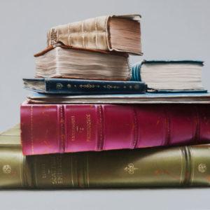 Natura morta con libri